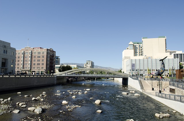 Truckee River through Reno