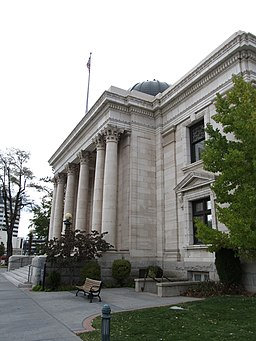 exterior washoe county courthouse