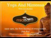 Midtown Wine Bar, Yoga and Mimosas