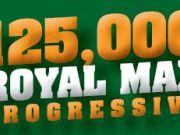Max Casino, 125,000 Royal Max Progressive