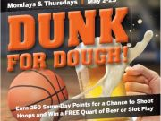Max Casino, Dunk for Dough Weekly Shootout!