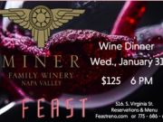 Winemaker's Dinner With Miner Family Winery