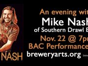 Brewery Arts Center, An Evening With Mike Nash of Southern Drawl Band