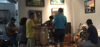 Carson Valley Art Center, Flash Jams