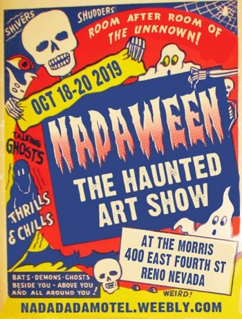 Morris Burner Hostel, Nadaween; The Haunted Art Show