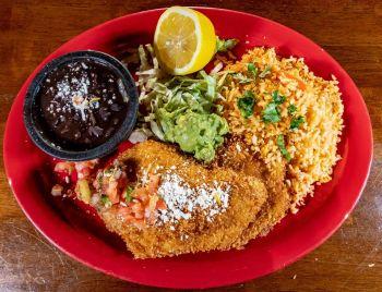 San Marcos Mexican Grill, CHICKEN MILANESA SALAD