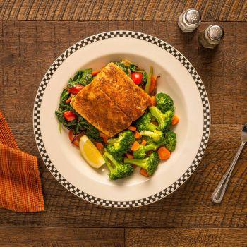 Black Bear Diner, Fit & Focused - Blackened Salmon
