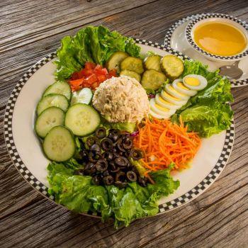 Black Bear Diner, Tuna Salad or Chicken Salad Croissant