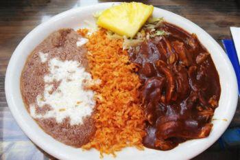 Bertha Miranda's Mexican Restaurant and Cantina, Chicken Mole (Mole de Pollo)