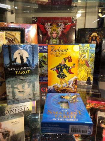 The Melting Pot World Emporium & Smoke Shop, Tarot Cards