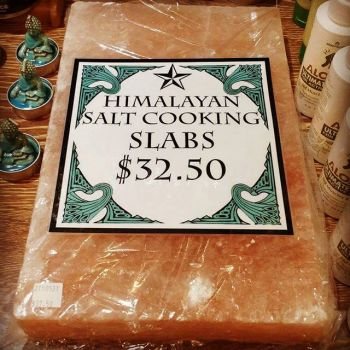 The Neon Dragonfly Reno, Himalayan Salt Cooking Slabs