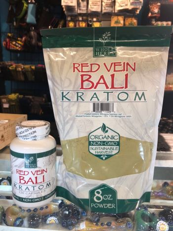 The Melting Pot World Emporium & Smoke Shop, Whole Herbs: Red Vein Bali Kratom
