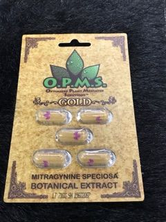 The Melting Pot World Emporium & Smoke Shop, O.P.M.s.® Gold Capsules