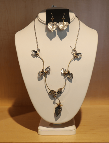 Nevada Museum of Art, Necklace and Earring Set by Thomas Mann