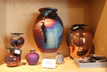 Nevada Museum of Art, Jars and Vases by Roku Potteryworks