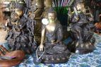 The Melting Pot World Emporium & Smoke Shop, Hindu Meditation Statues