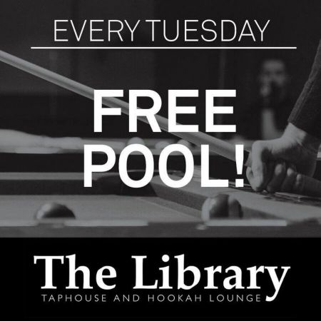The Library, Free Pool at the Library
