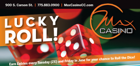 Max Casino, Lucky Roll!