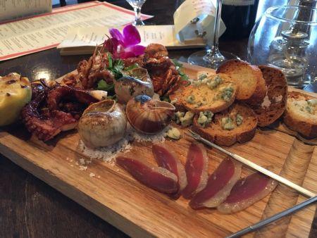 Fin & Filet, Chef's Tasting Platter
