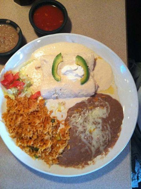 Si Amigos Mexican Restaurant, Shrimp Enchilada