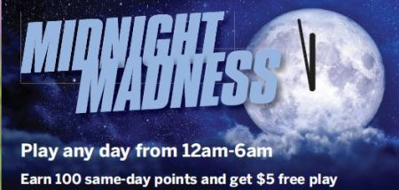 Max Casino, Midnight Madness!
