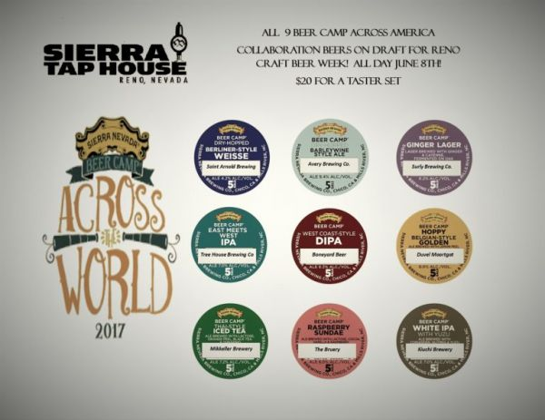 Beer Camp Across the World Tap Takeover @ Sierra Tap House