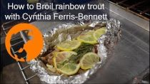 Easy broil rainbow trout